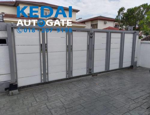 Install Sliding Auto Gate New Design In Kuala Lumpur
