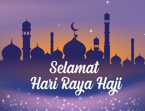 Selamat Hari Raya Haji 2021